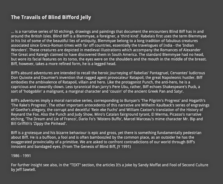 The Travails of Blind Bifford Jelly: Introduction