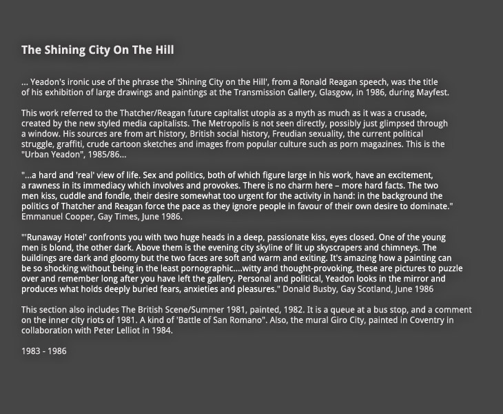 The Shining City on the Hill:  Introduction