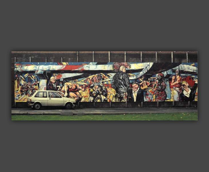 The Giro City Mural (Coventry)  [1984]
