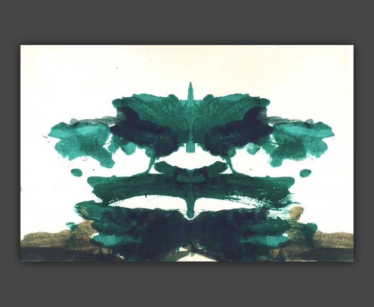 Totem Study (Rorschach print)  [1968]