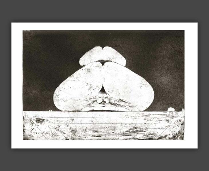 Totem (etching)  [1968]