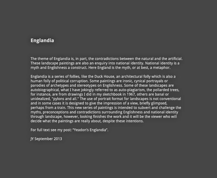 Englandia gallery introduction