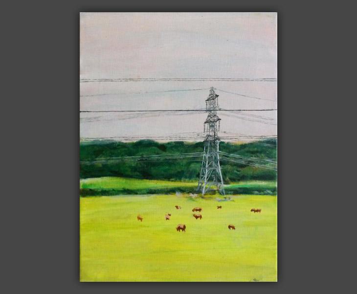 Landscape with Pylon 2   2013